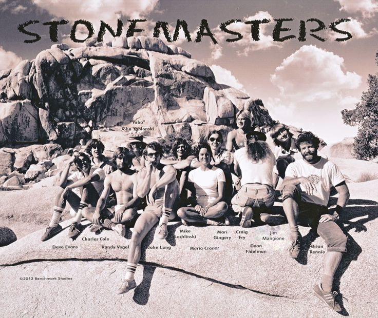 The Stone Masters - true legends of climbing. (and Lynn Hill talks about her romance with John Long)