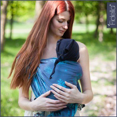 Fidella babywrap Shiva Spirit -plum-