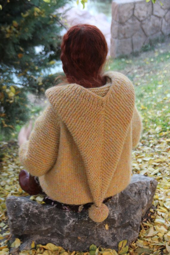 Super chunky knit Cardigan Sweater hand knitted in a smoke and pet free environment.    This super chunky knit cardigan is perfect for everyone. It