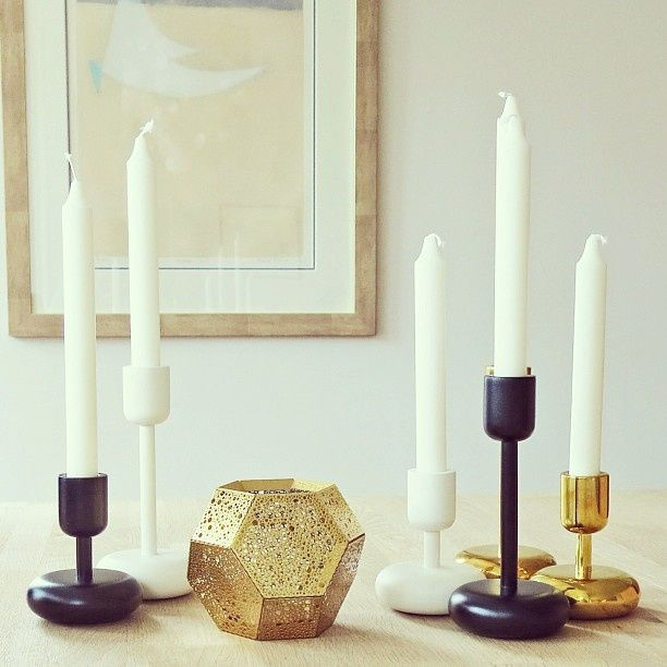 images of beautiful candles & holders | Beautiful Nappula candle holders.