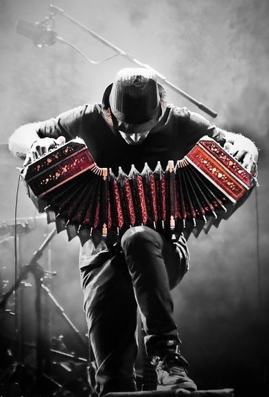 This is a bandoneon. It is culturally important in Argentina as it is used to play the music in which the tango is danced to. The tango is an Argentinian's favorite dance.