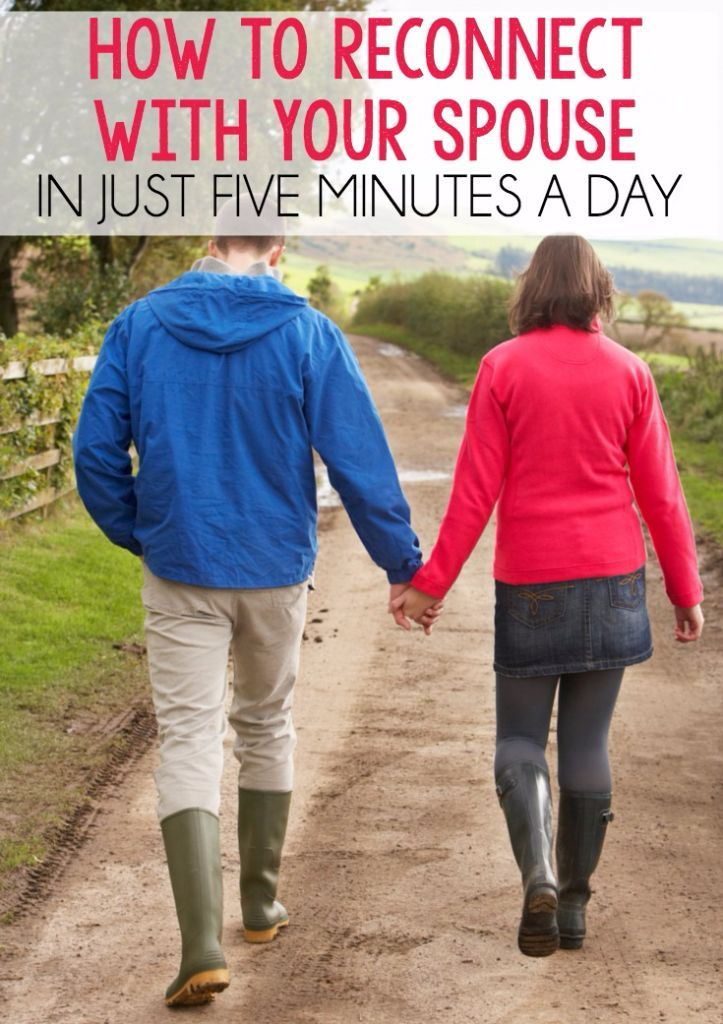 Love this idea for reconnecting with your spouse and love that it only takes a few minutes each day!