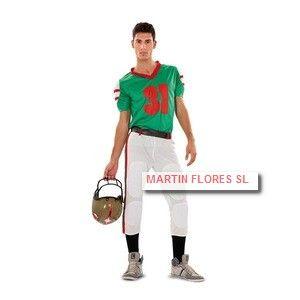 Disfraz Jugador Rugby o futbol americano. Mucha más variedad en www.martinfloress... #Carnaval #sevilla @Martin_flores_