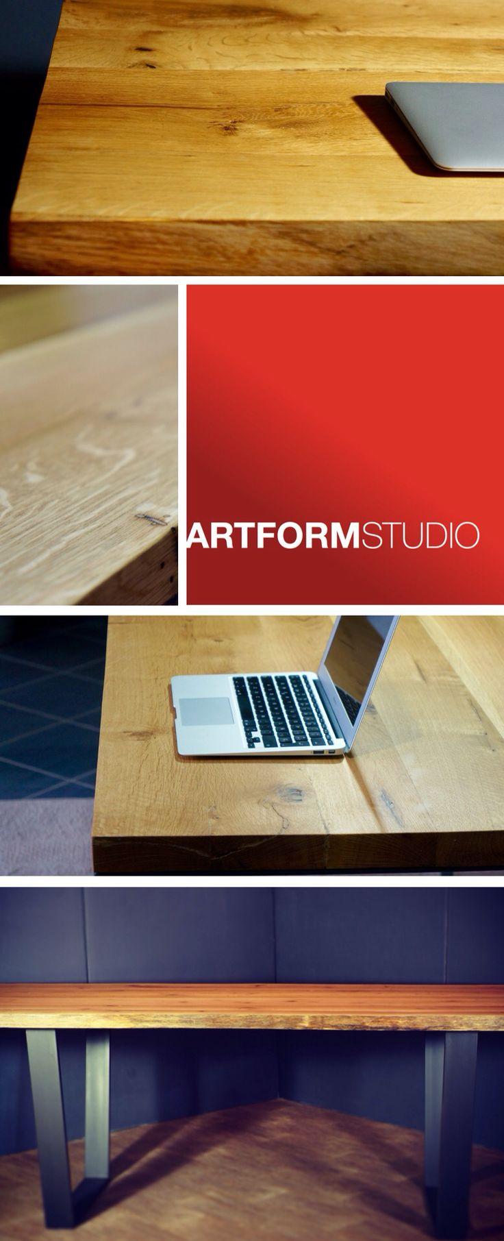 Contemporary solid oak tables by Artform