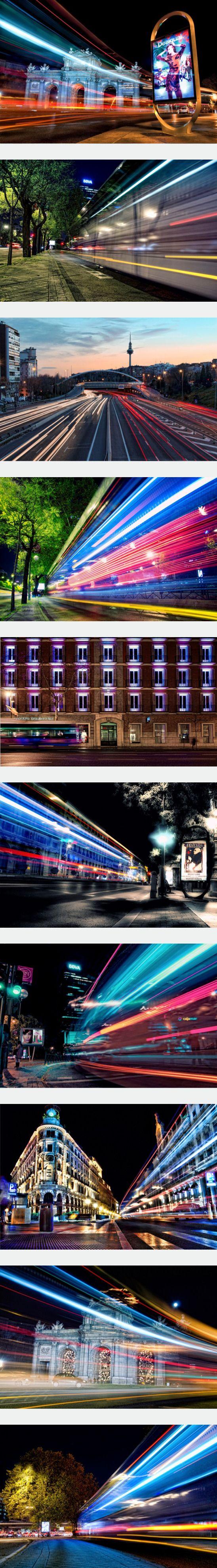 Urban Long-Exposure Photos by Alfon Novillo