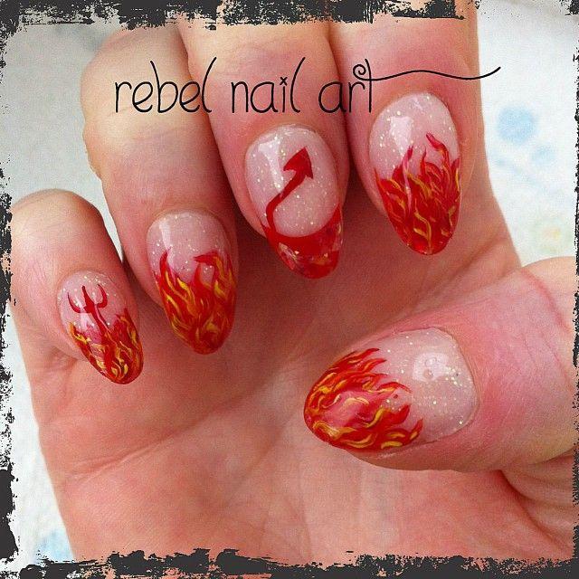 1010 best nail art images on pinterest nail designs nail art halloween by rebelnailart nail nails nailart prinsesfo Choice Image