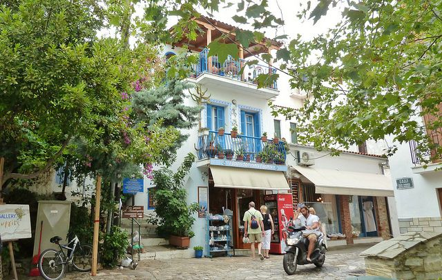 Shop in Skiathos town | Flickr - Photo Sharing!