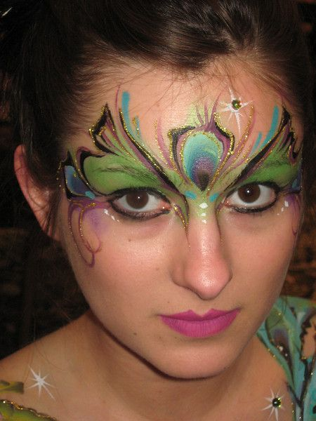 Very cool Face painting