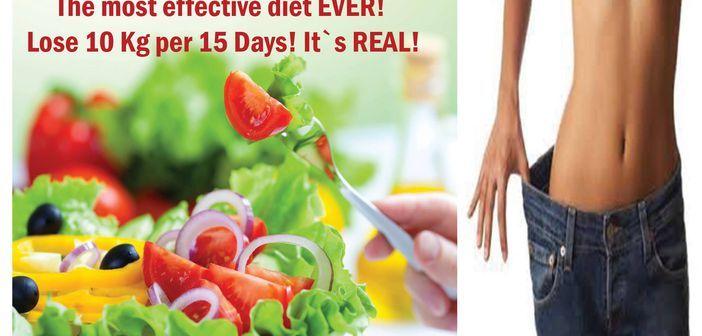 dieta 10 kg in 15 zile