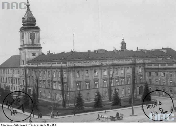 Zamek Królewski, 1932