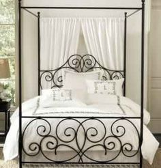Las 25 mejores ideas sobre camas de hierro forjado en - Camas estilo colonial ...