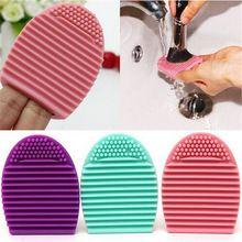 Cleaner Ferramenta de limpeza Maquiagem Cosméticos Escova Fundação ovo Silicone Dedo de Luva(China (Mainland))