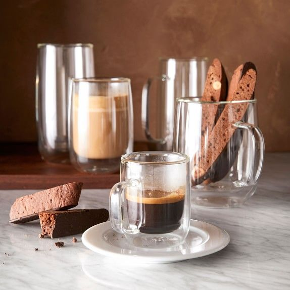 Double Wall Glass Espresso Mugs Double Wall Glass Glass Coffee Mugs Glass Coffee Cups