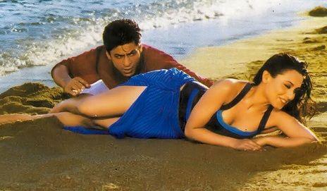 Shahrukh Khan and Rani Mukherji - Chalte Chalte (2003) Source: pinkvilla.com