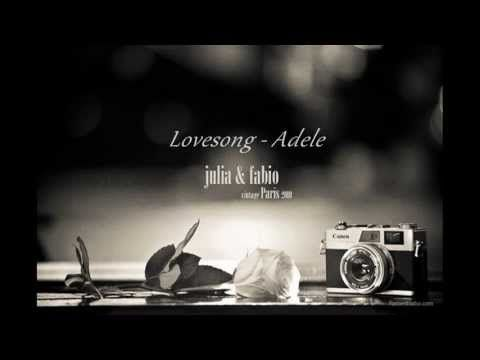 ▶ Adele - Lovesong (Lyrics) - YouTube