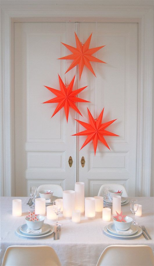 Wonderful neon Christmas stars #star #neon #Christmas
