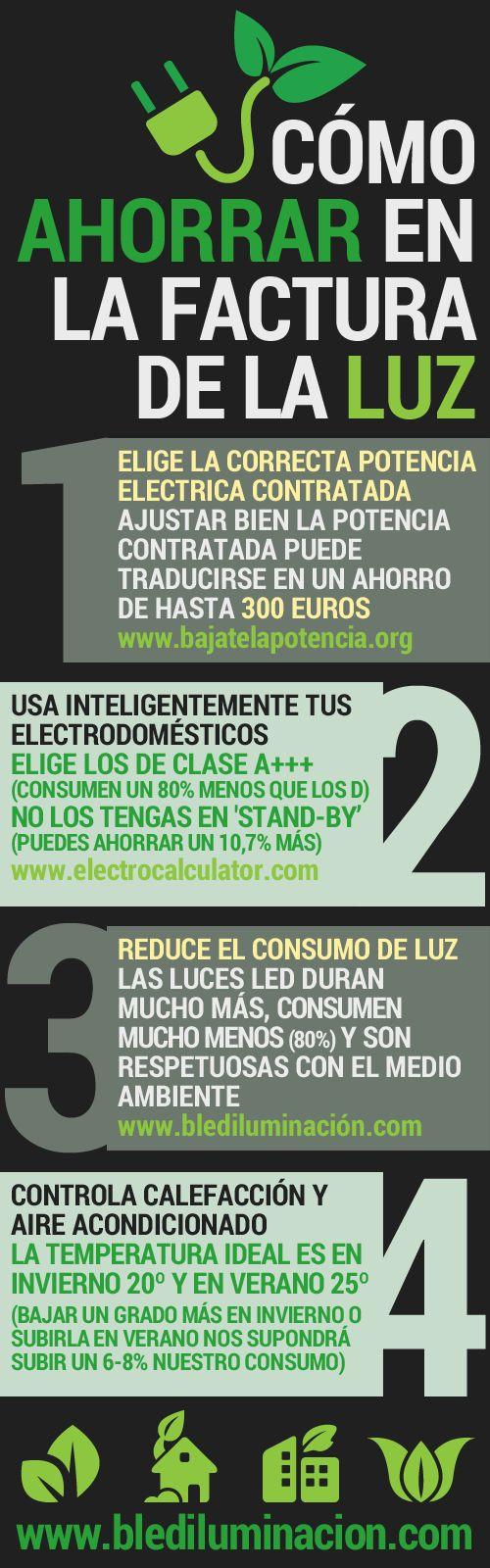 Cómo ahorrar en tu factura de la LUZ www.barcelonaled.com