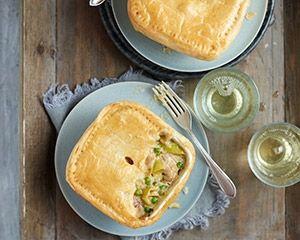 Slow cooker chicken pie