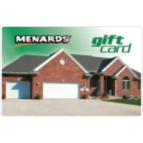 Menards Gift Cards: This would help us finish MANY of the house projects we plan to do over the cold winter months :)