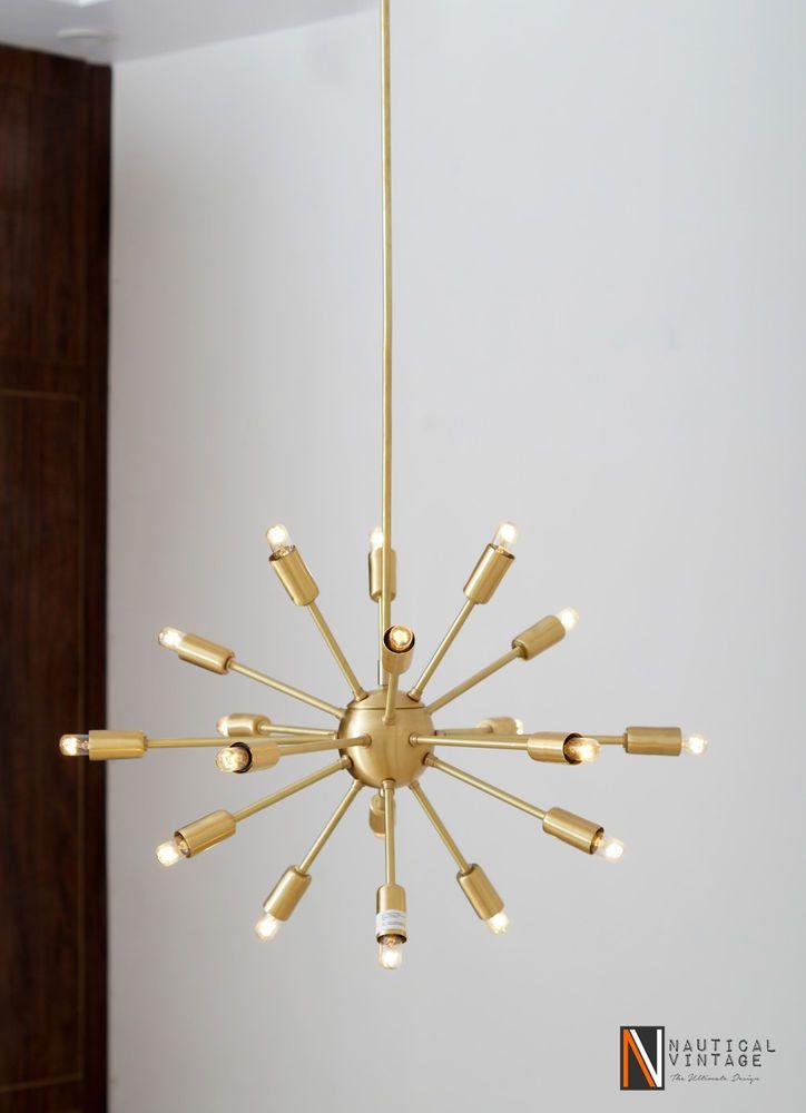 M s de 1000 ideas sobre ara a sputnik en pinterest - Lampara de arana moderna ...