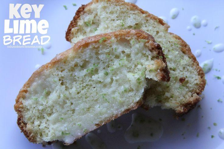 key lime juice bread mix bread rolls keys bread recipes limes mix ...