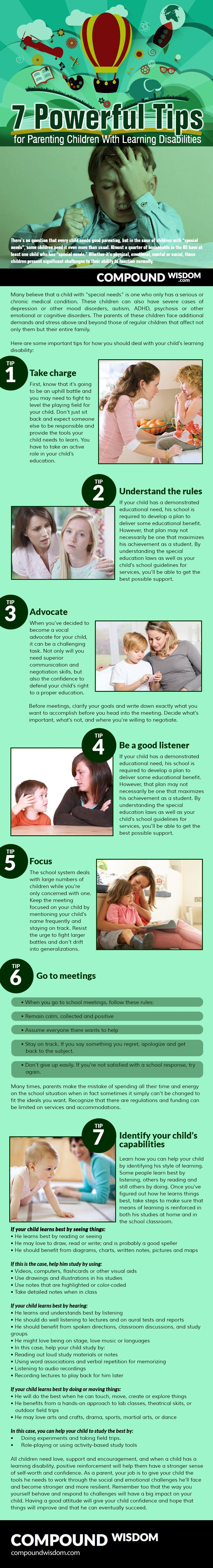 case study learning disability child