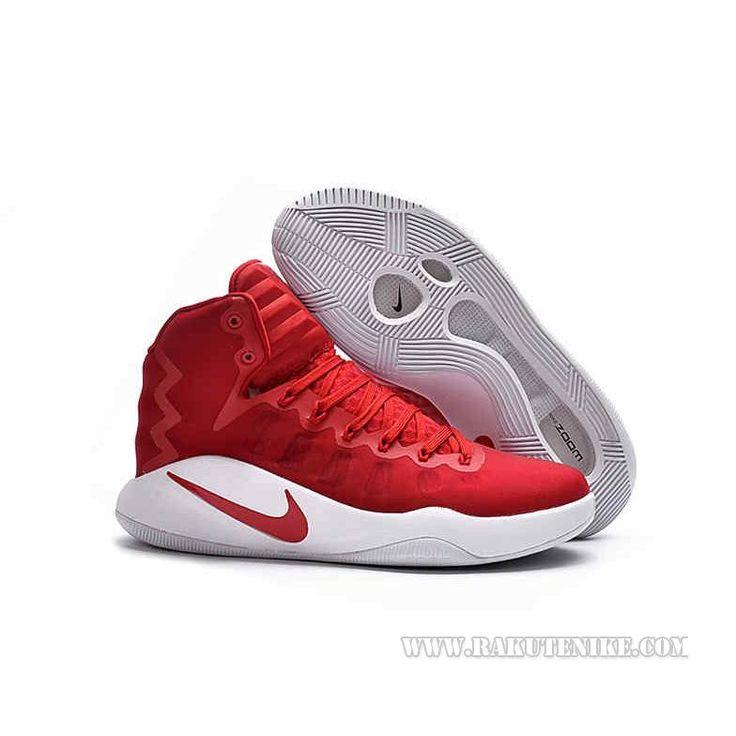 2016SS新作Nike Hyperdunk 2016 HI 844363 ナイキ ハイパーダンク ロー メンズ バスケットシューズ バッシュ レッド 赤 RED *ホワイト WHT 白