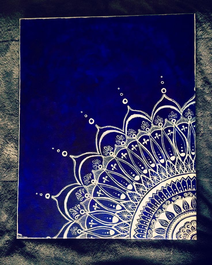 Free Hand Mandala Acrylic on Canvas 16x20 #mandala #painting #megagoodvibesart