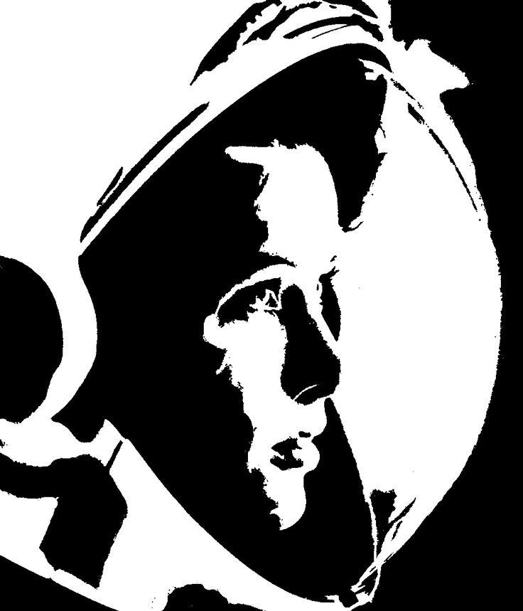 astronaut stencil template - photo #3