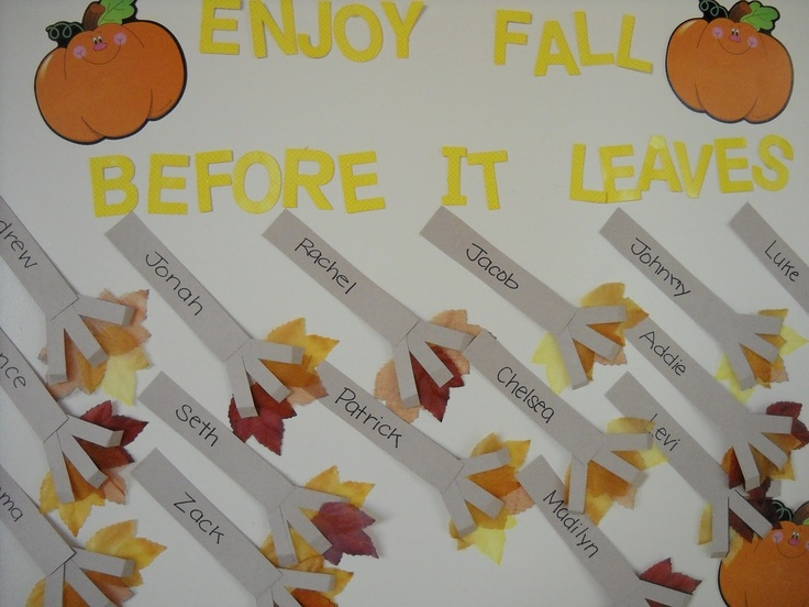 fall rakesFall Leaves, Fall Fun, Awesome Bulletin, Leaf Crafts, Fall Activities, Fall Bulletin Boards, Corn Rolls, Preschool Fall Crafts, Boards Ideas