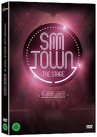 SMTOWN The Stage - DVD