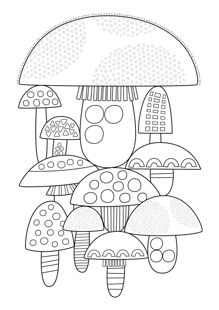 Pikku Kakkosen tulostettavat värityskuvat. Free printable pattern. lasten…