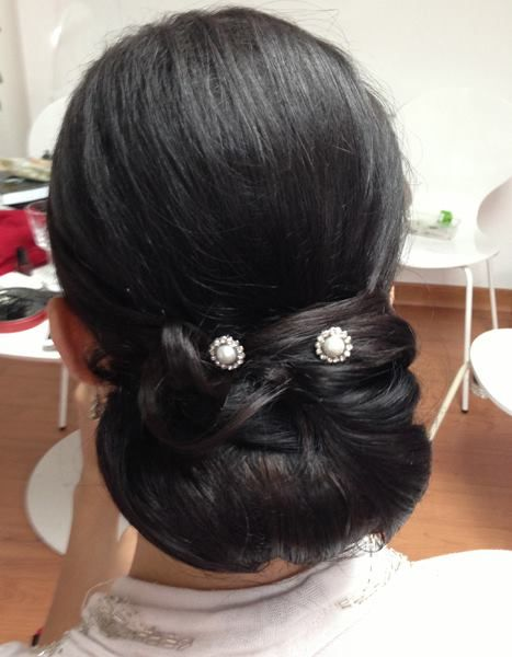 Bridal updo WHAM Artists http://weddinghairandmakeupartists.com/