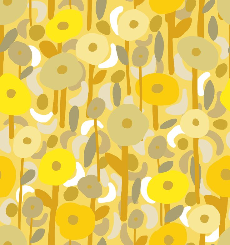 Estampa Floral Moderno by Tati Barthmann para Promex Decor - projeto do livro Bloom Fé Brasil
