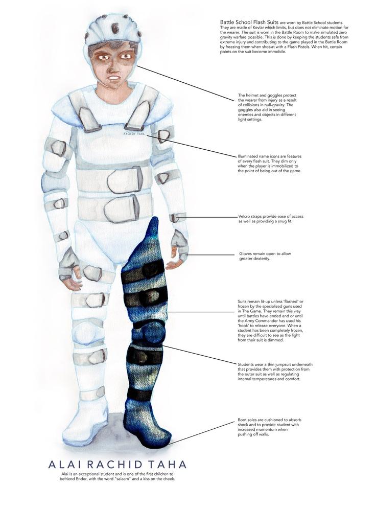 Alai Poster MA Ender's Game Concept Art Ender Game