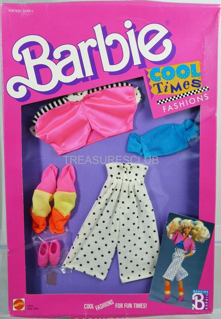 Barbie Cool Times Fashions #3323 New Never Removed from ...