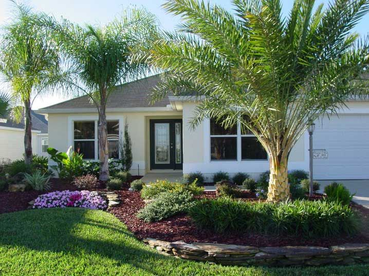 Decorative tropical landscaping ideas for front yard for Garden design windows 7