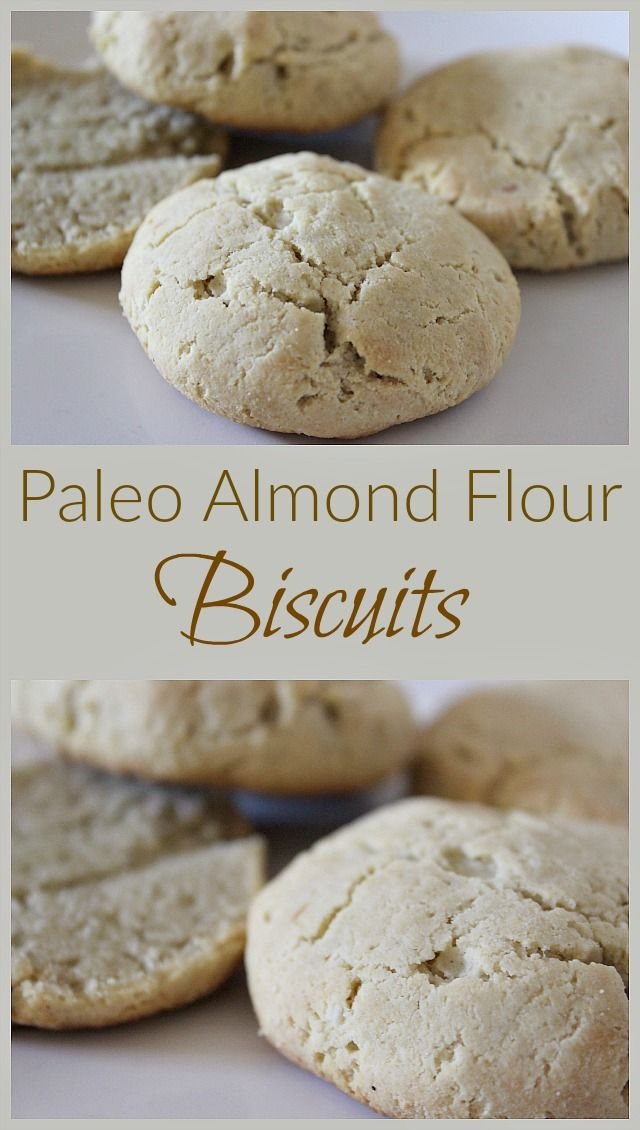 Looking for grain-free, family-friendly biscuits? Try this delicious combination of blanched almond flour and traditional ingredients!