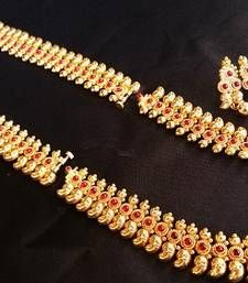 Buy red Ruby  necklace-sets necklace-set online at http://www.mirraw.com/designers/aaparnam/designs/red-ruby%C2%A0-necklace-sets--4