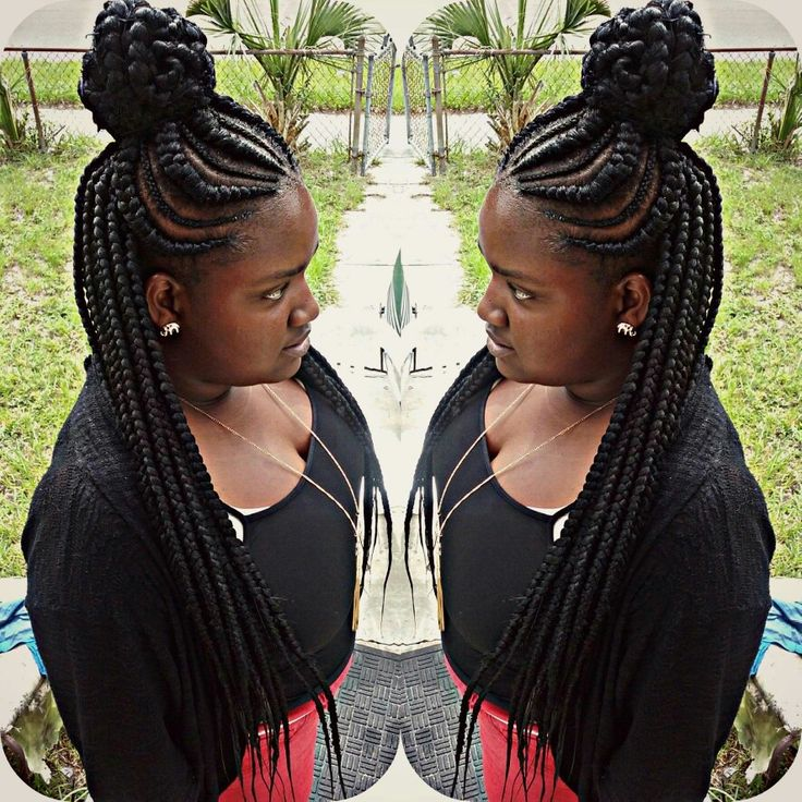 braids natural hair styles