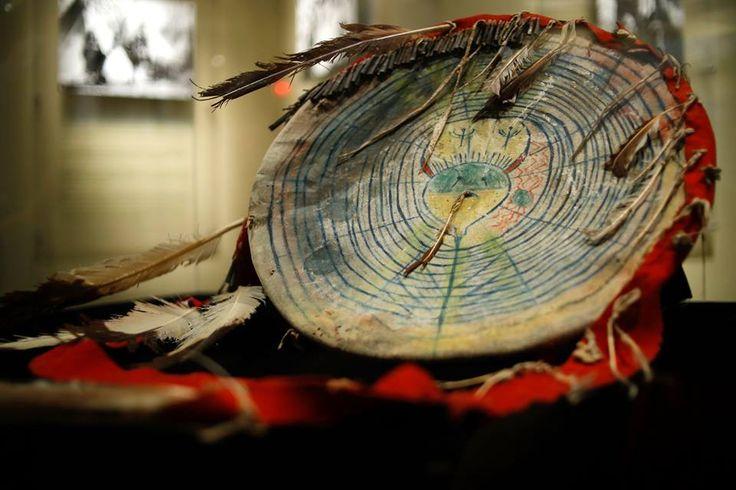Comanche shield, Comanche National  Museum and Cultural Center  ac