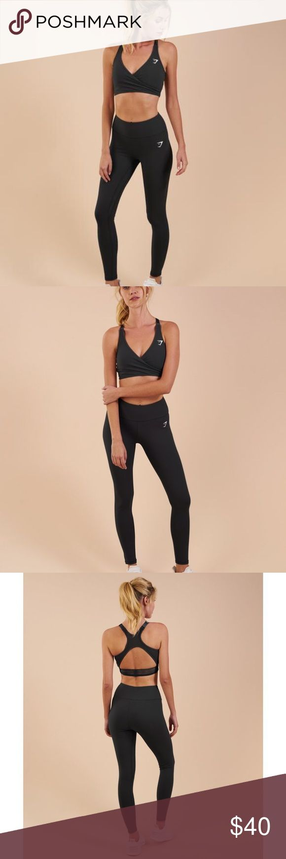 Gymshark Dreamy Legging Gymshark Dreamy legging in the color black size small. Brand new! These pants are so ridiculously comfortable, there is a reason why they are called Dreamy! Unfortunately they are a little bit too big on me. Gymshark Pants Leggings