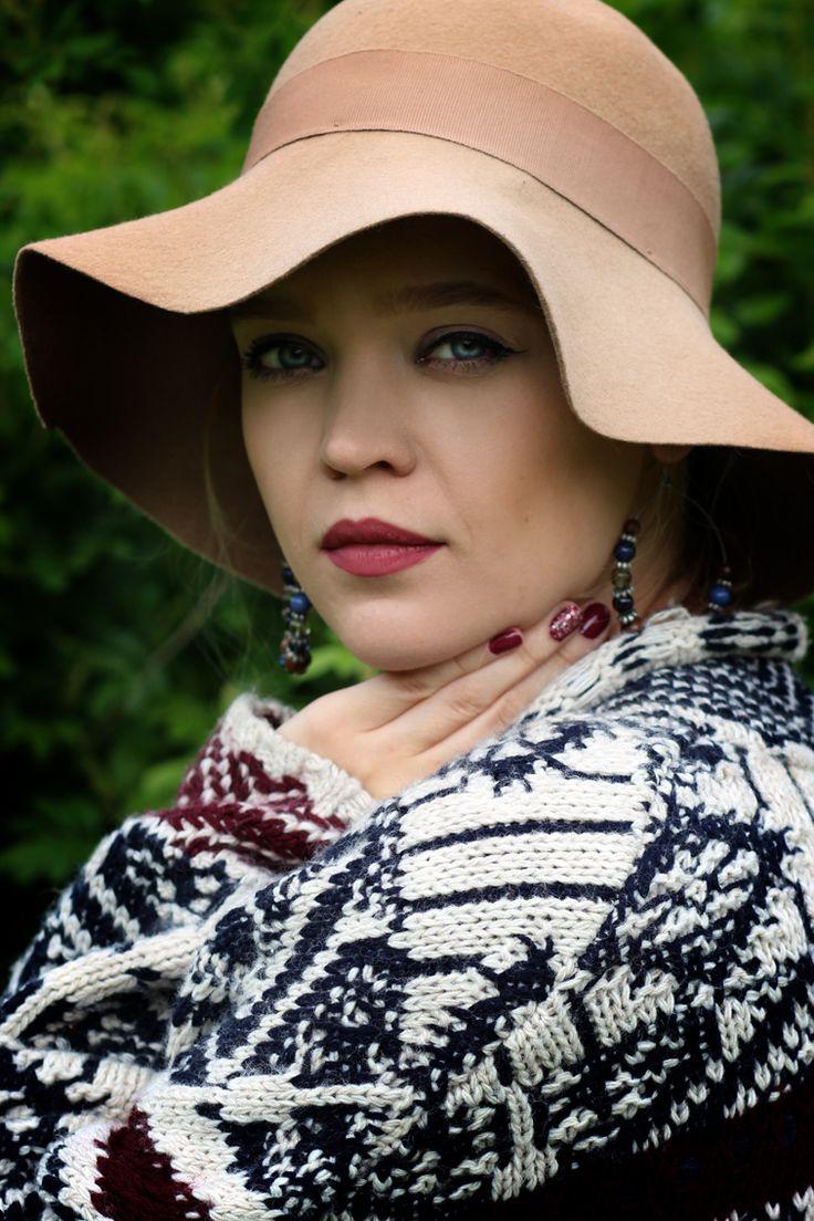 Moja stylizacja - W roli głównej: kapelusz