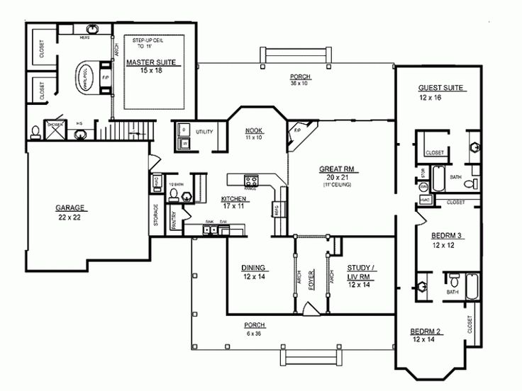Eplans Dutch House Plan   Four Bedroom Dutch   2974 Square Feet And 4  Bedrooms