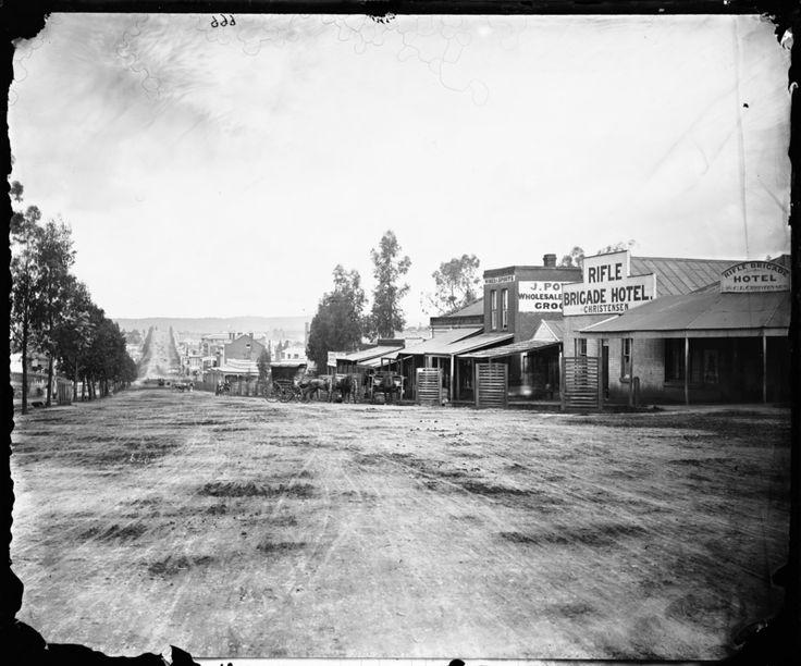 View Place, Sandhurst (Bendigo) 1870-1875