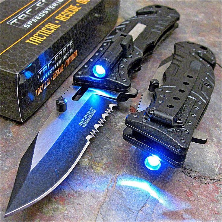 LED Tactical Knife #Under-$50 #For-Men #Multi-Function-Pocket-Tools