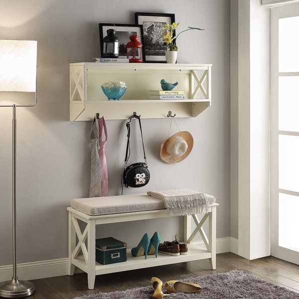 Youu0027ll Love The Little Elm Wood Storage Bench At Wayfair   Great Deals On