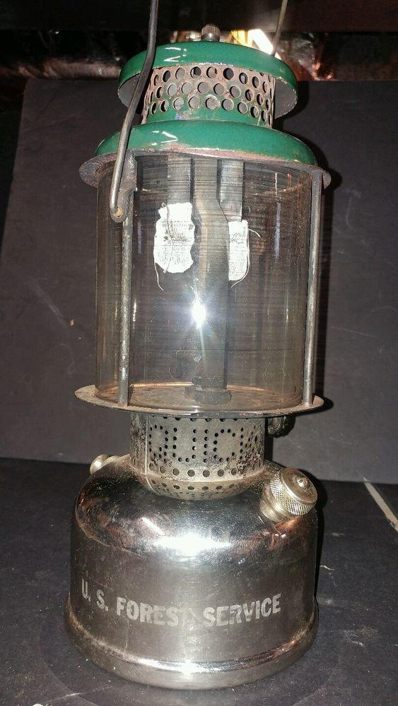 Rare 1919 pat. Coleman United States Forest Service USFS  Lantern | eBay