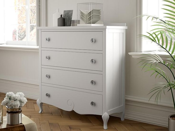 Classic Solid Wood Chest of Drawers produced using Chilean Pine