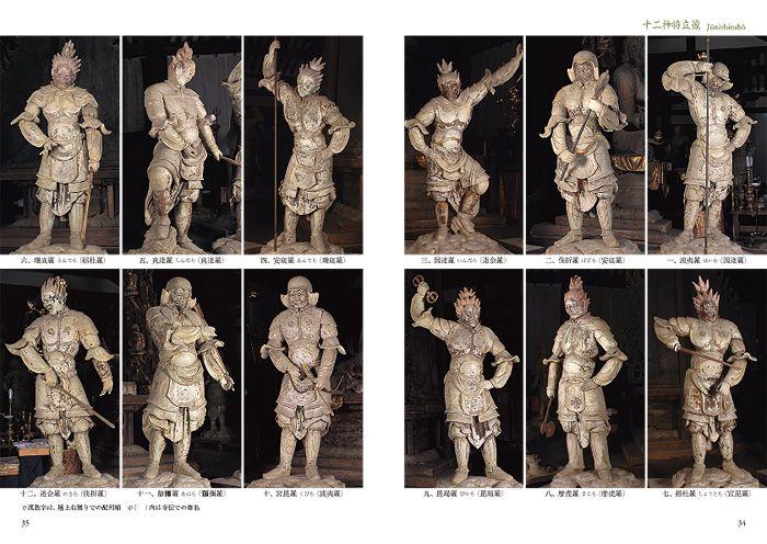 《十二神将像》8世紀前半 新薬師寺